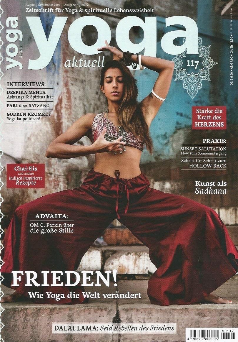 Yoga aktuell – Pari über Satsang