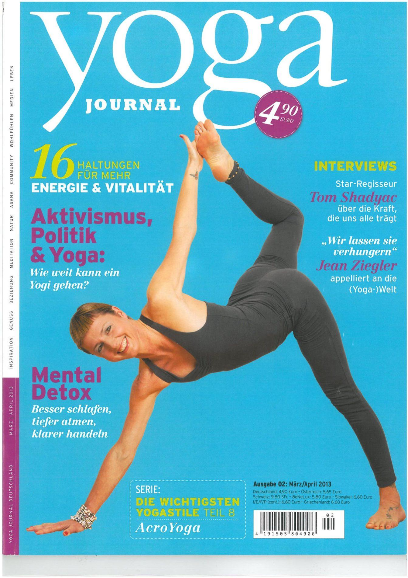 Yoga Journal – Spiegel des Herzens