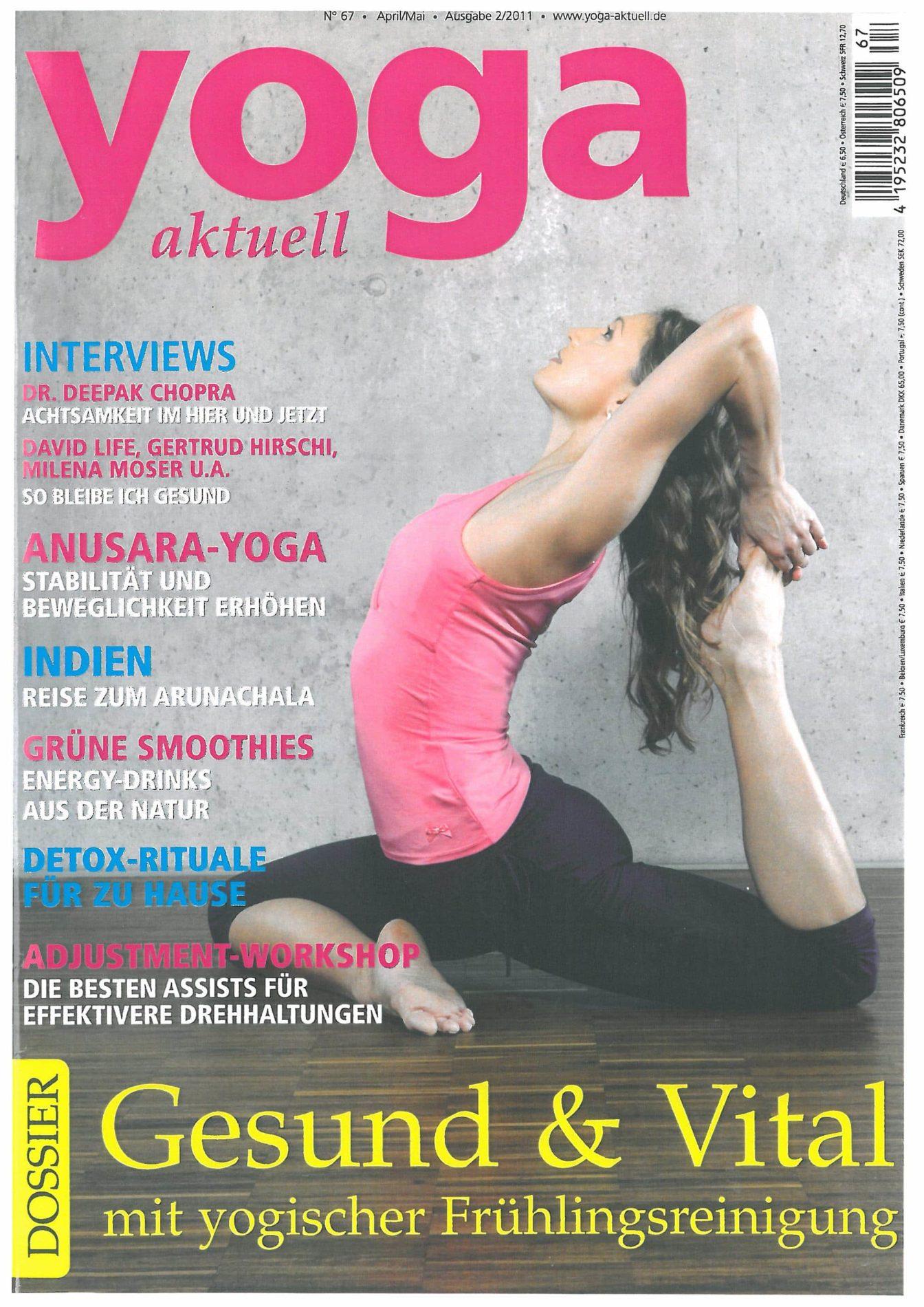 Yoga aktuell  – kurz gefragt