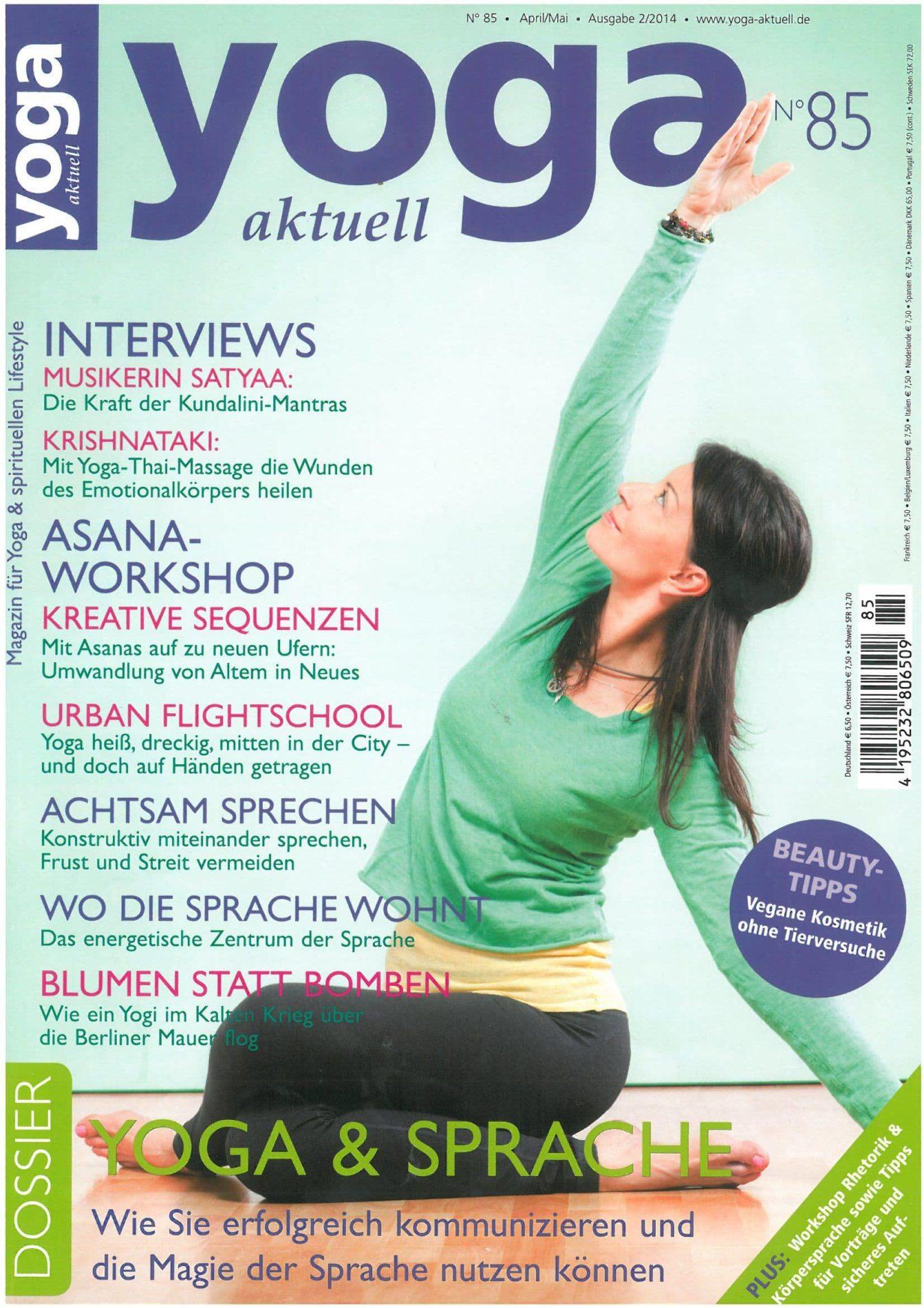 Yoga Aktuell – die Kraft der Kundalini-Mantras