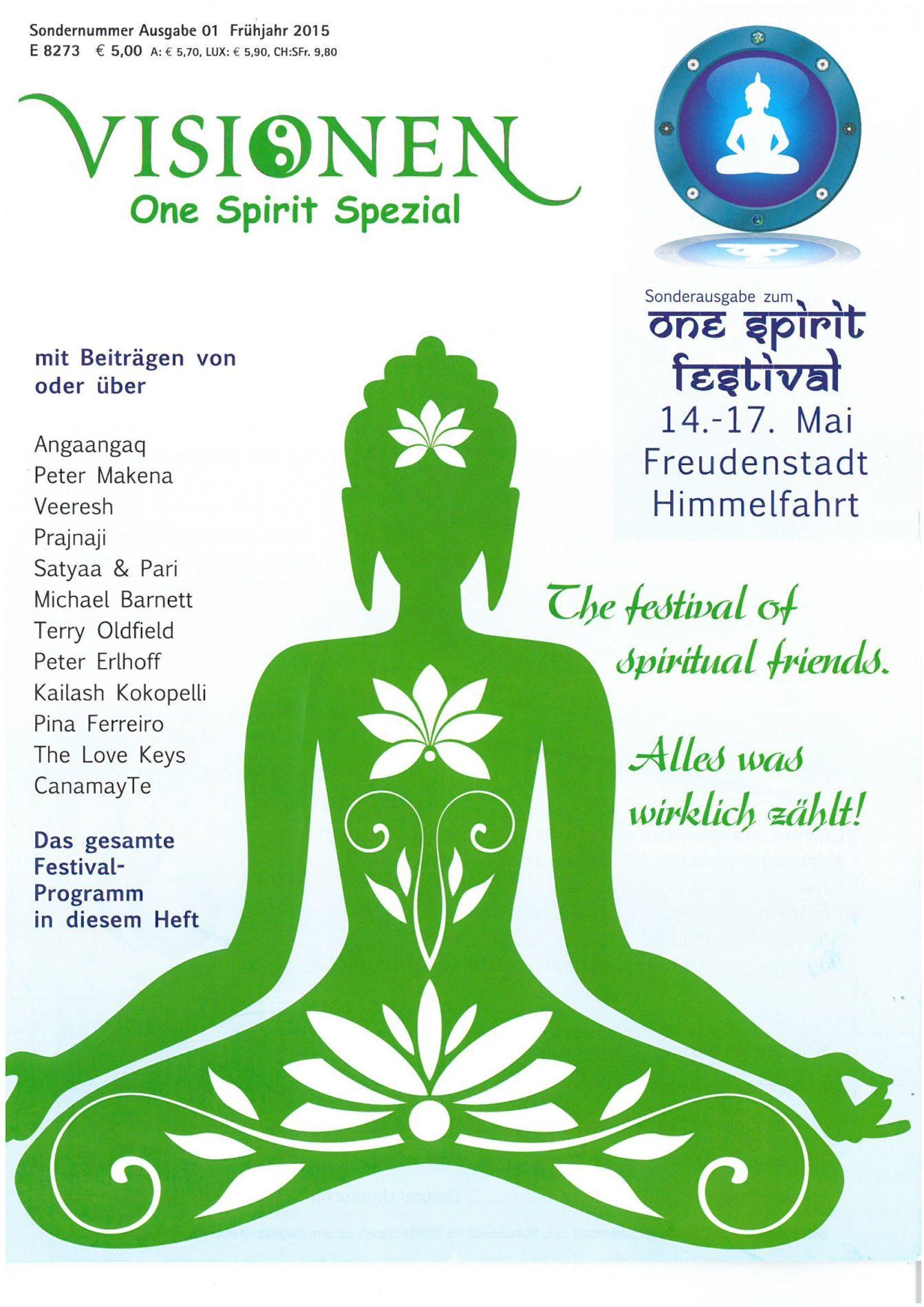 Visionen · One Spirit Special – Platz für etwas Grösseres