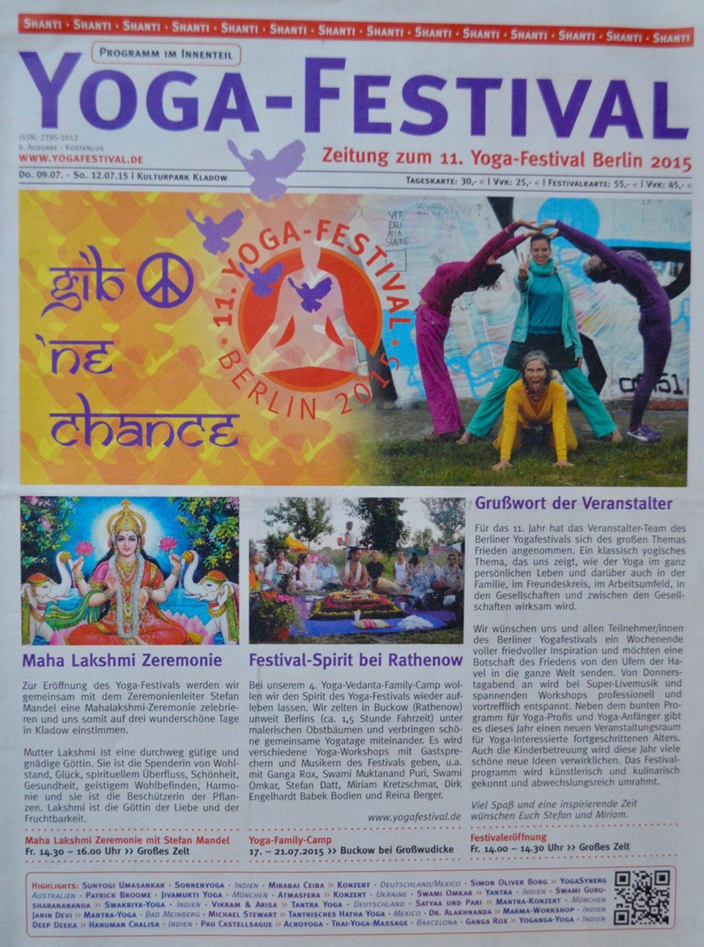Yoga Festival – Zu sein genügt vollkommen