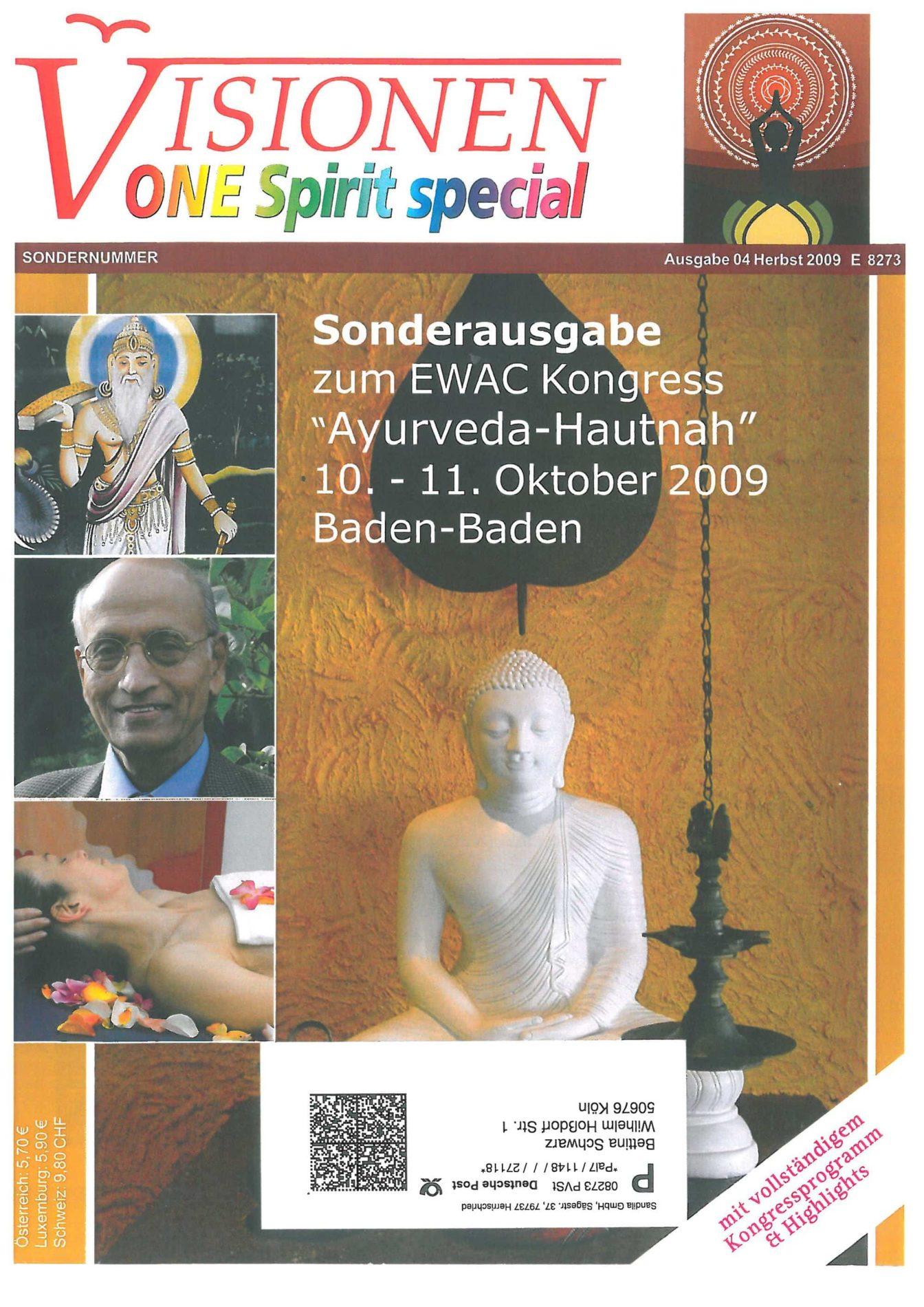 Visionen Special – Ayurveda – die Lehre von der Einheit des Lebens