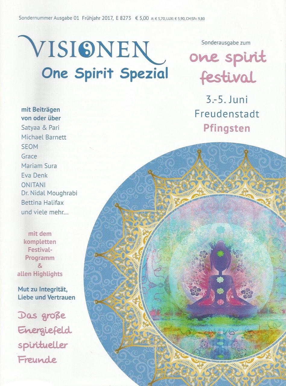 Visionen – One Spirit Special – Lass es gehn