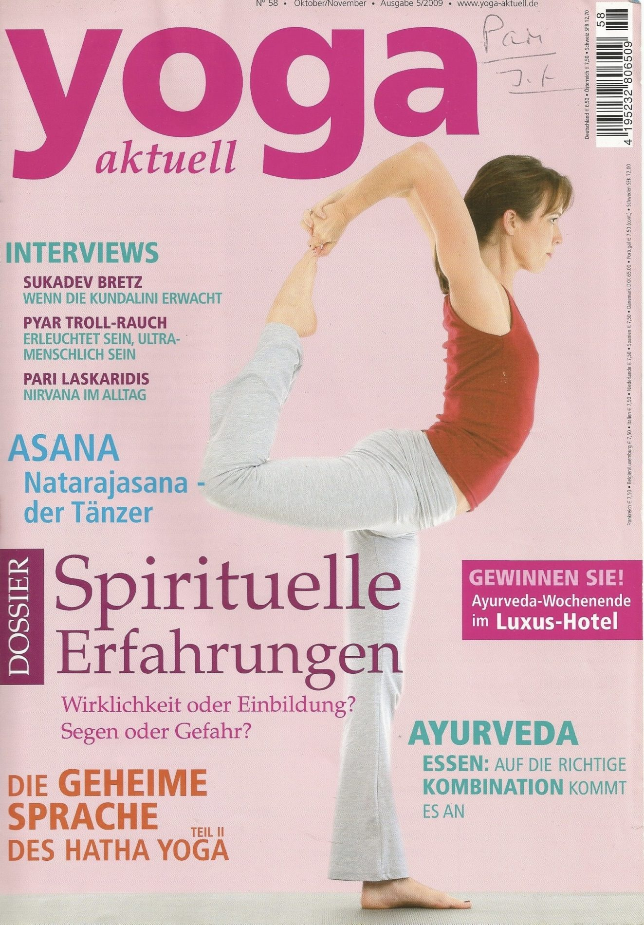 Yoga Aktuell – Nirvana im Alltag