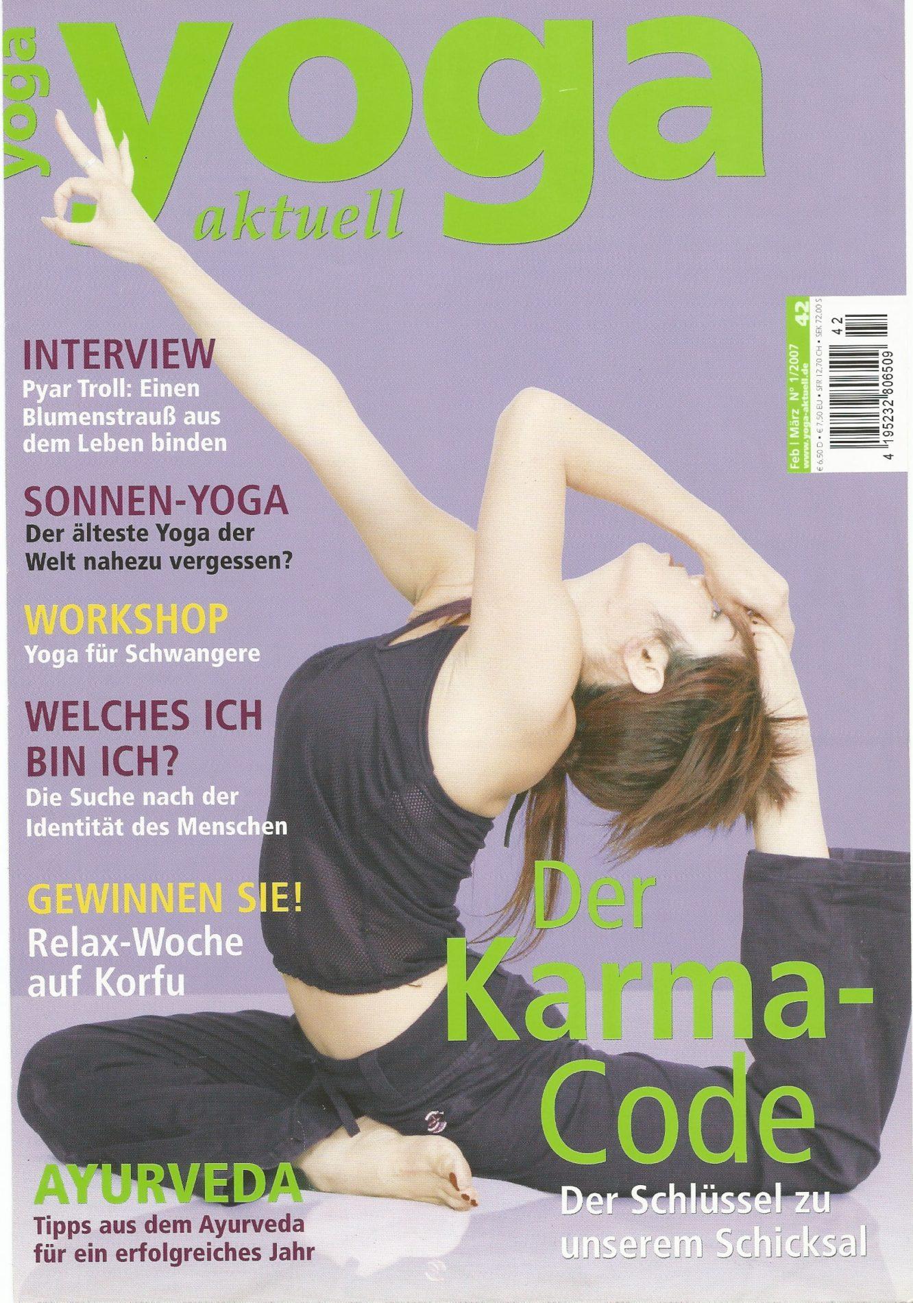 Yoga Aktuell – Die Saiten des Herzens